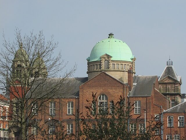 Wolverhampton skyline - the city is covered by our pest control Wolverhampton team